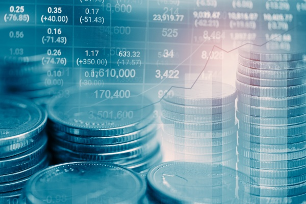 stock market investment trading financial coin