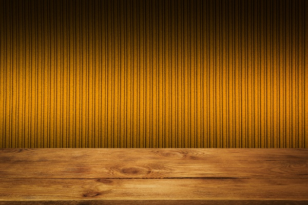 the background is blank wooden boards