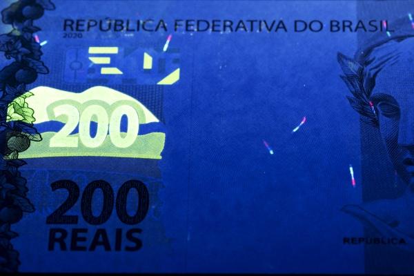 brazilian real in uv rays