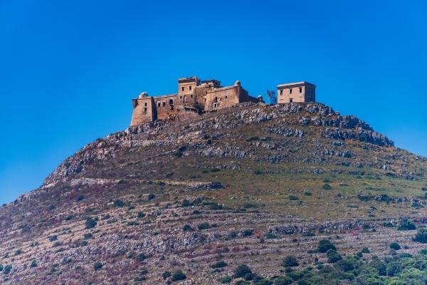 castle of santa caterina in favignana