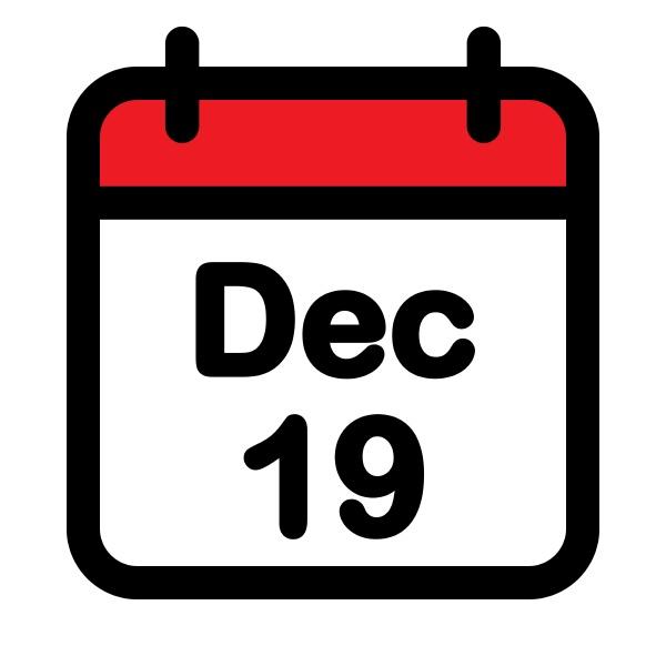 december calendar icon