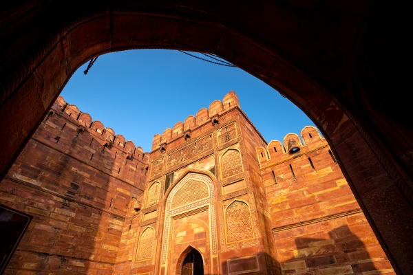heritage site agra fort or