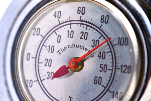 old thermometer to measure atmosheric temperature