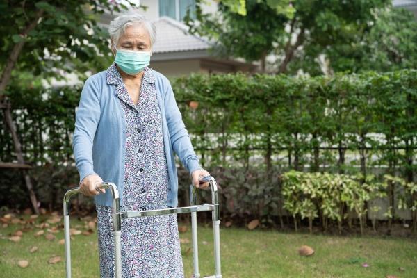 asian senior or elderly old lady