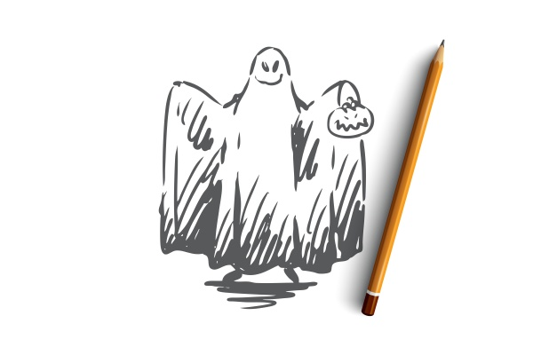 halloween ghost scary