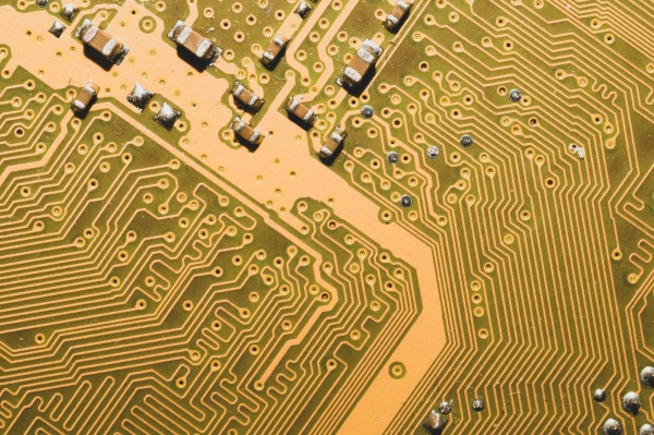 electronic circuit board abstract background