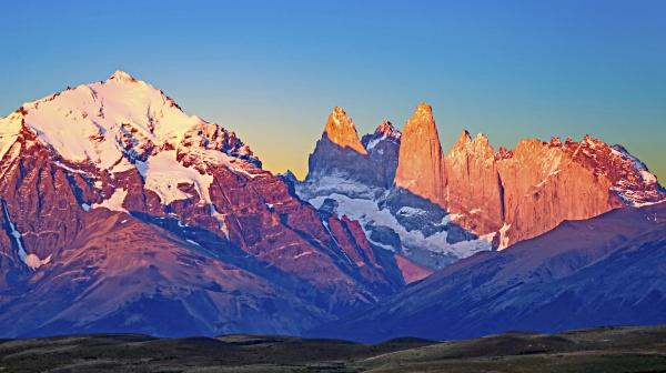 scenic view to fitz roy mountain