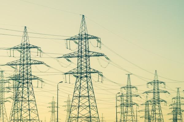 power line posts high voltage