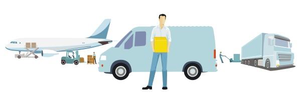 delivery delivery logistics parcel