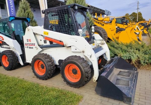 bobcat on construction area