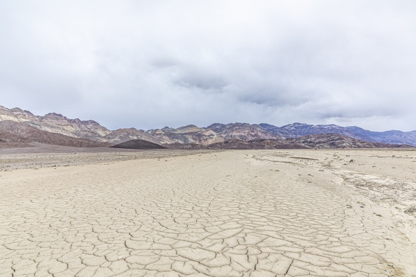 panoramic view of death valley