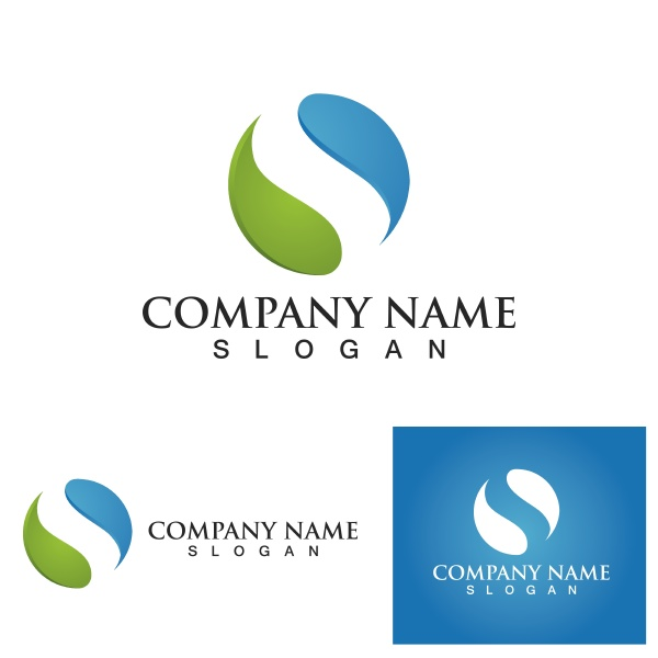 s letter logo business corporate