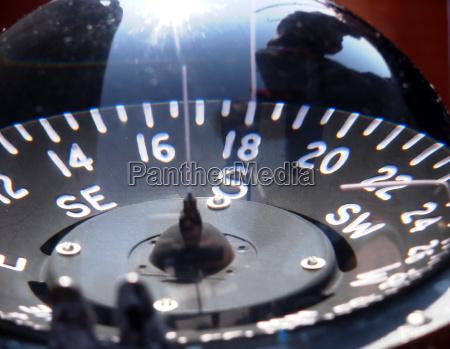 compass glass
