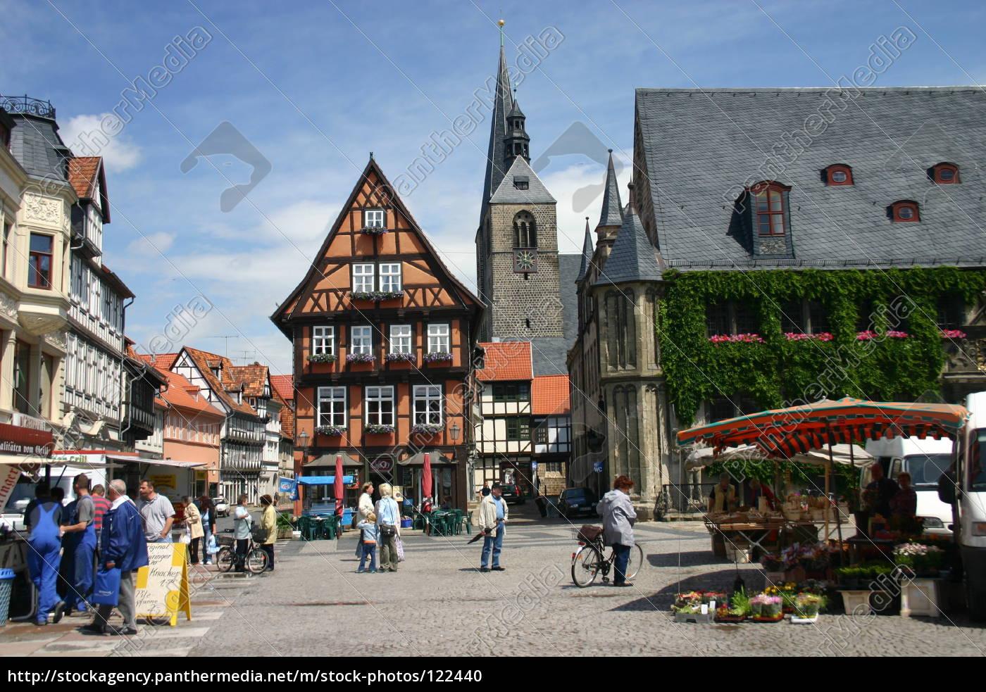market, square, quedlinburg - 122440