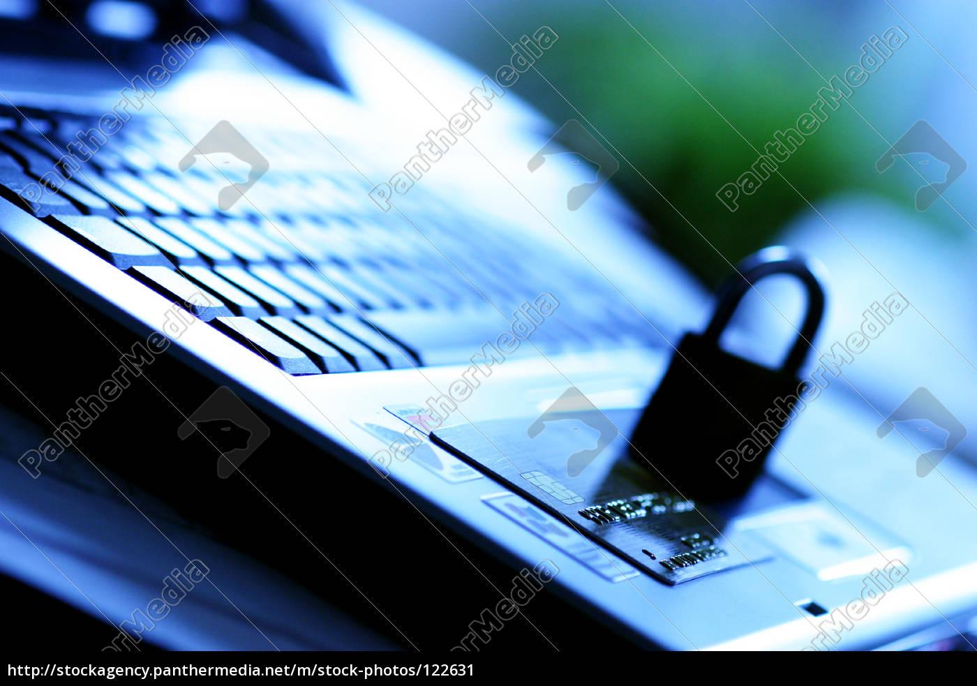 secure, laptop - 122631