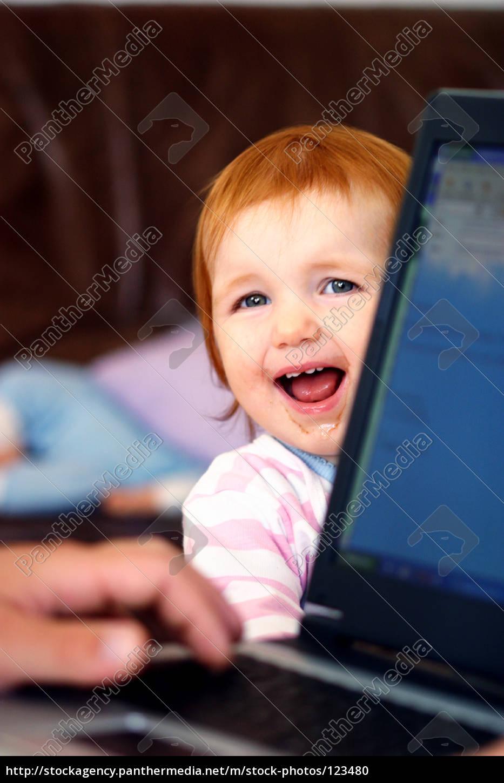 baby, am, computer - 123480