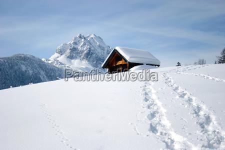 winter, tracks - 143930