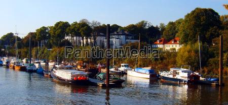 azul casas arvore arvores navios barco