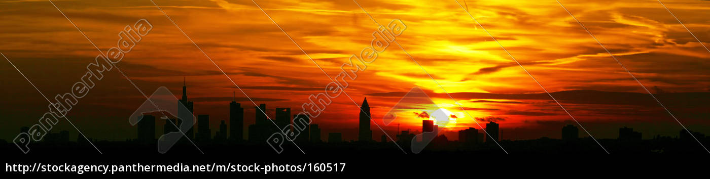 sunset, over, the, city - 160517