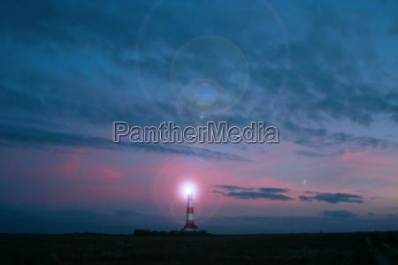lighthouse glare