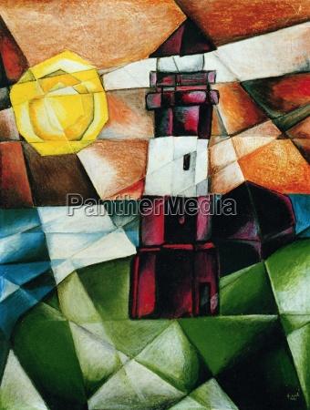 lighthouse hoernum cubistic