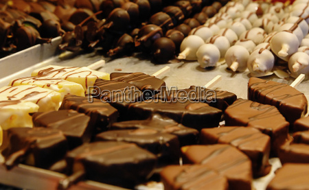 chocolate, fruits - 173101