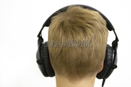 child, with, headphones - 175007