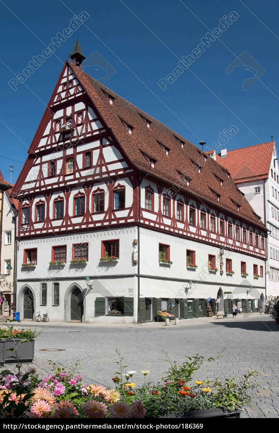 half-timbered, houses, 02 - 186369