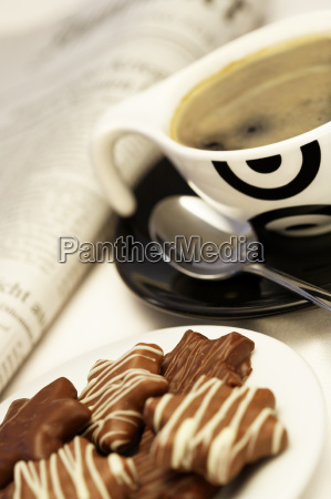 espresso, with, sweets - 195630