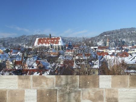 schwabisch gmund vinter panorama