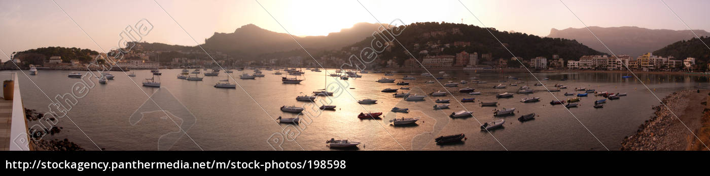 port, de, soller, morning - 198598