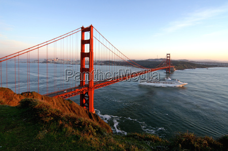 evening at the golden gate ii
