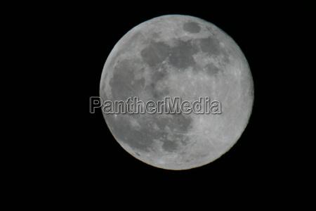 moon in big at night