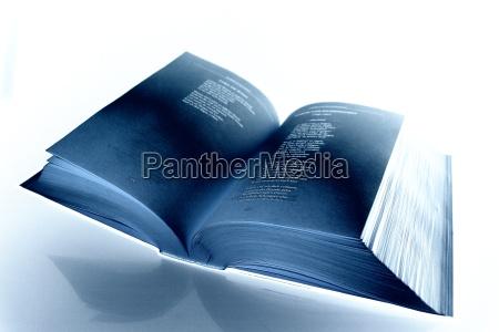 blue, book - 217736