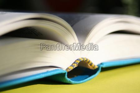 an, open, book - 229890