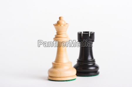 white, lady, black, tower - 233449