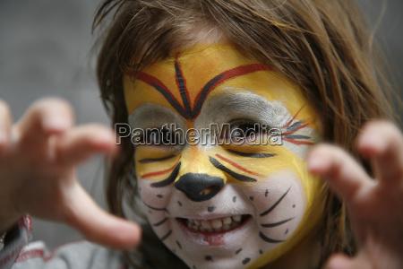 tiger, mask - 245175