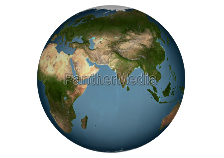 blue, marble, -, asia, without, clouds - 246189