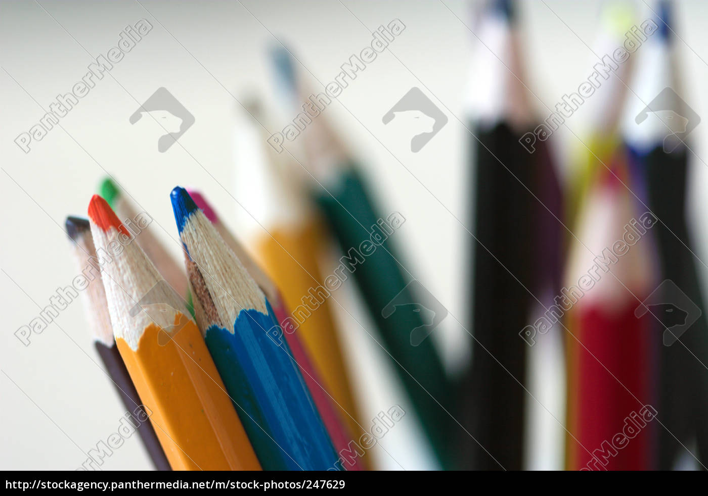 colored, pencils - 247629