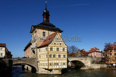 historisches, rathaus, bamberg - 255441