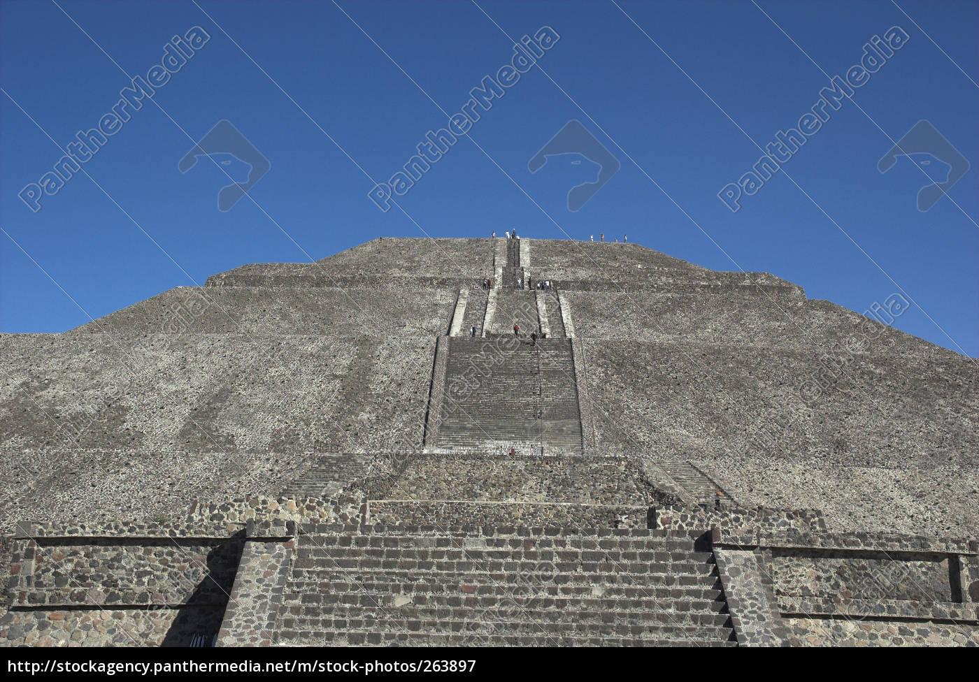 pyramid, tehuatican, mexico - 263897