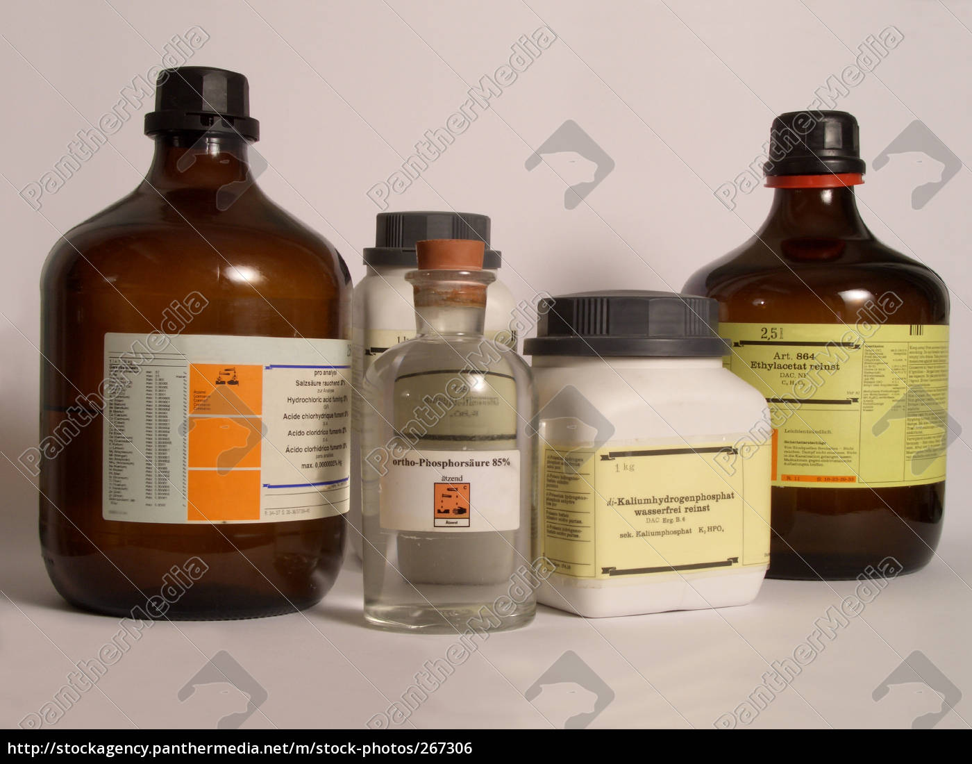 chemical, bottles - 267306
