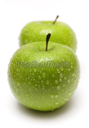 two, green, wet, apples, ii - 269270