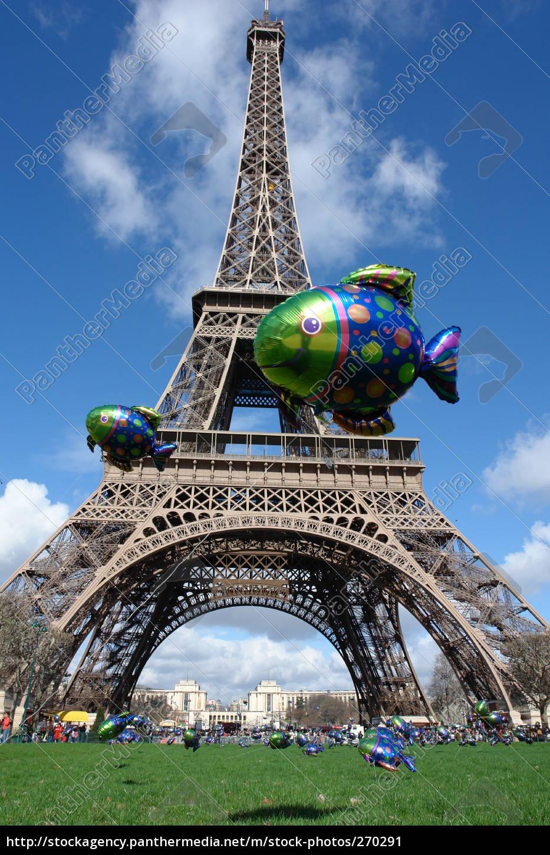 eifelturm, balloon - 270291