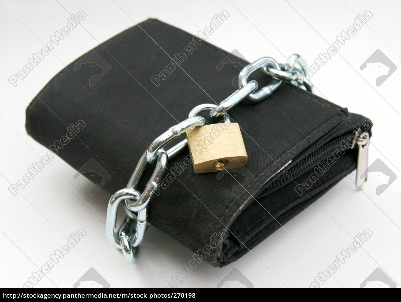 wallet, with, lock, 2 - 270198