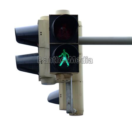 traffic light pedestrian green 4