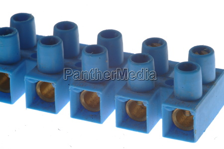 block clamp blue