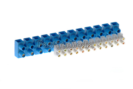 block clamp blue