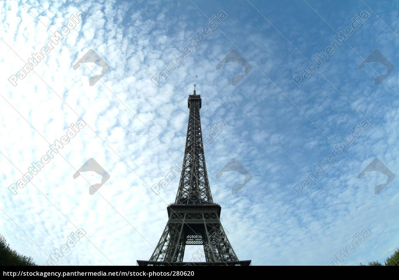 eiffel, tower, centrally - 280620