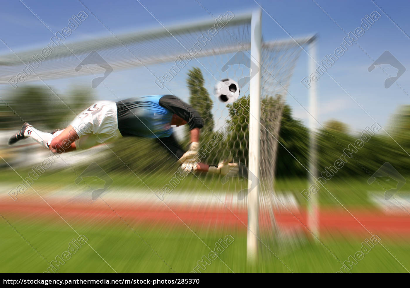 goalkeeper, in, action - 285370